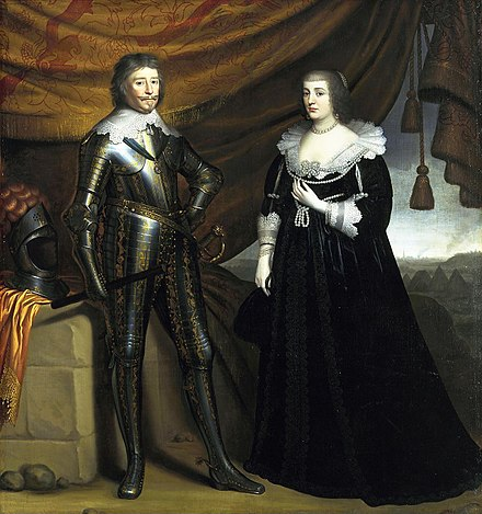 Prince Frederik Hendrik and his wife Amalia van Solms